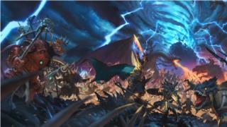 A Battle Of Lizardmen Wallpaper From Total War Warhammer Ii
