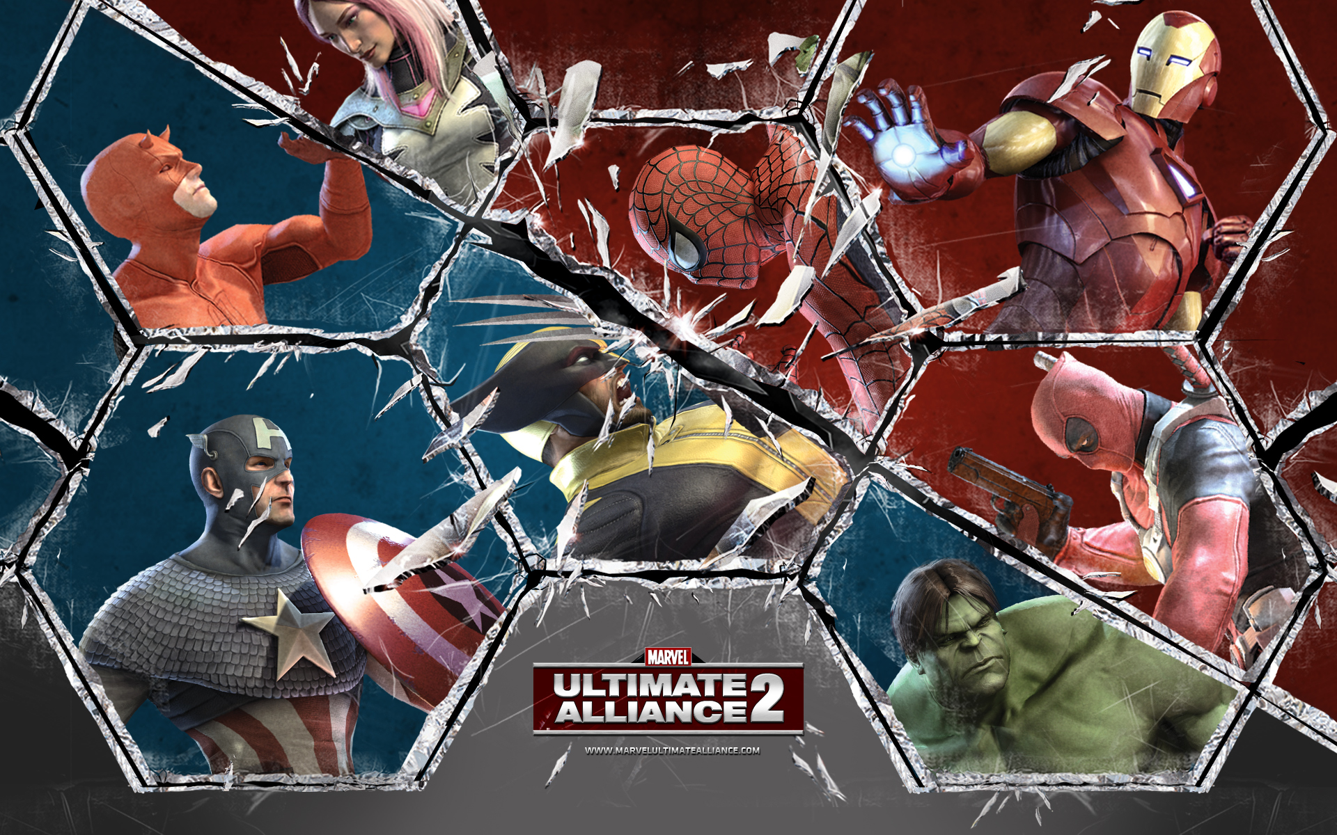 wallpaper #1 Wallpaper from Marvel: Ultimate Alliance 2