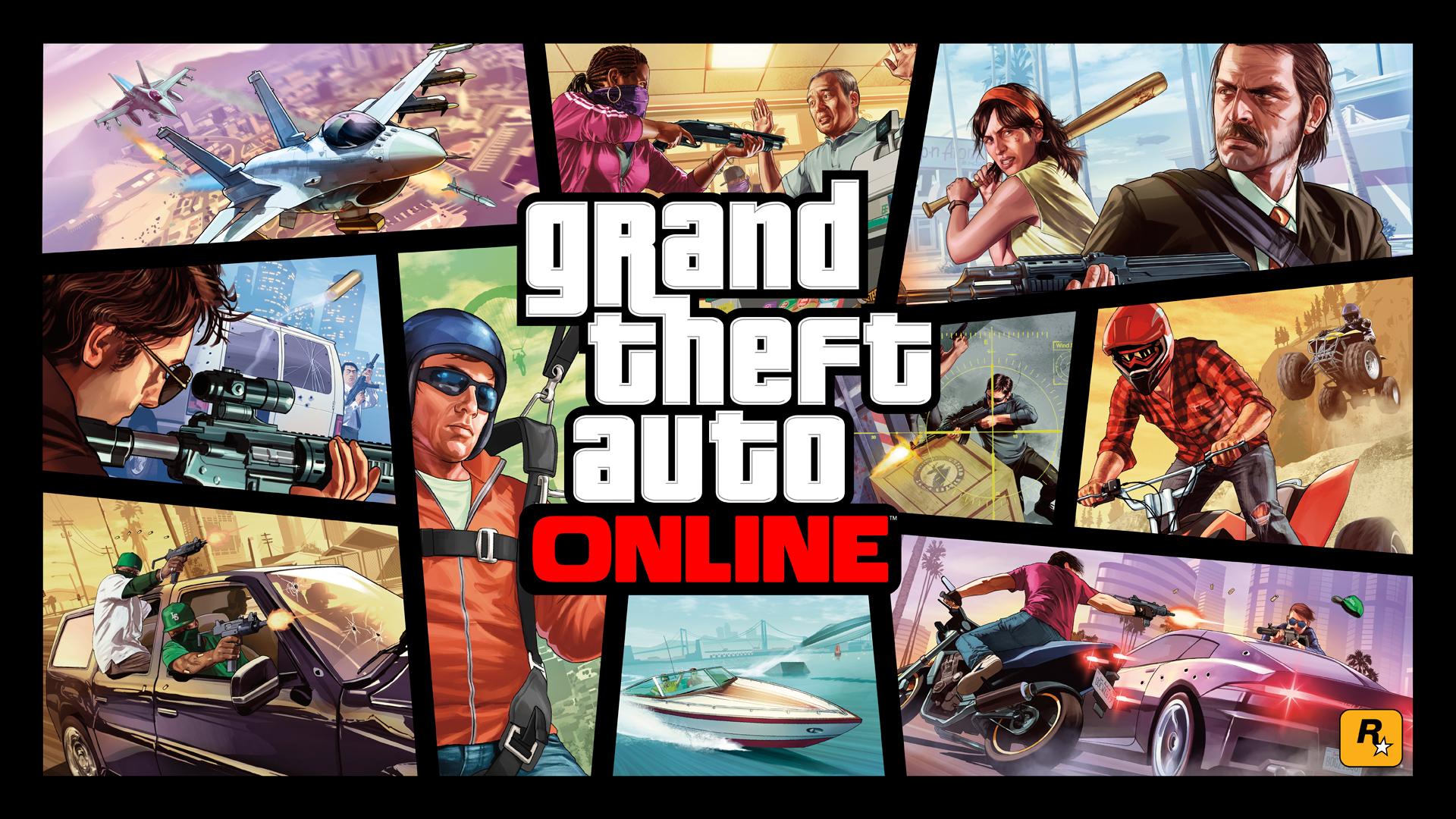 Wallpaper #3 Tapeta na pulpit Grand Theft Auto V