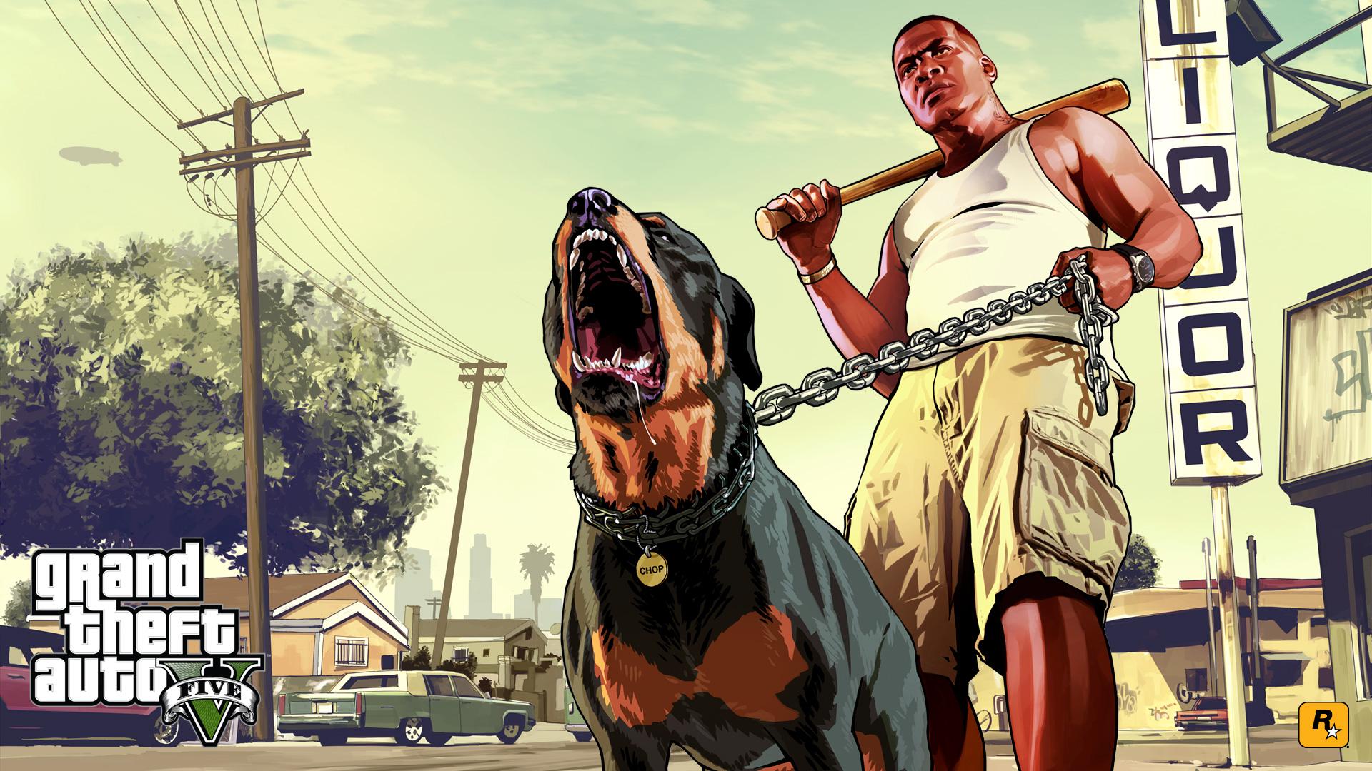 Wallpaper #14 Tapeta na pulpit Grand Theft Auto V