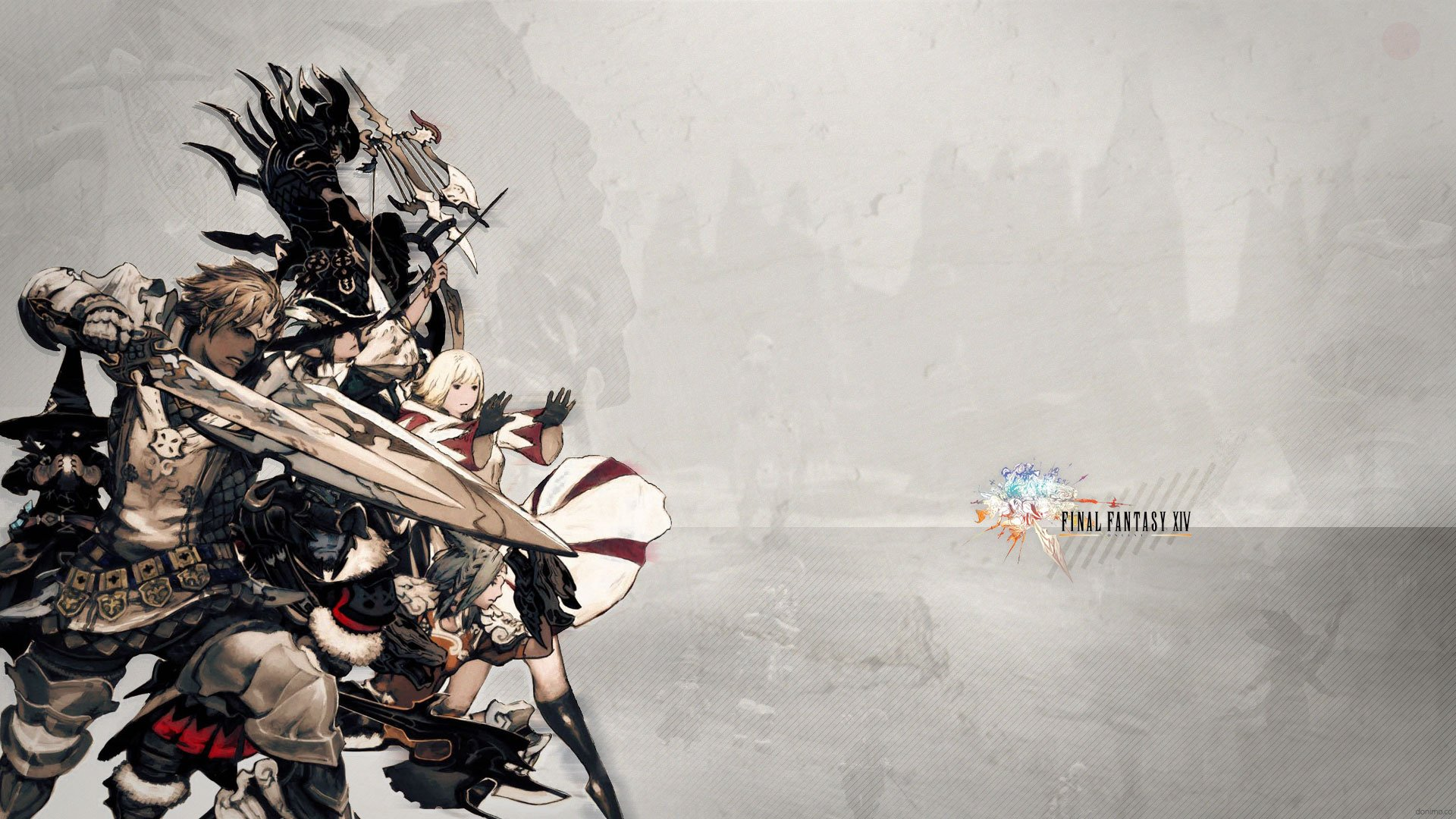 Final Fantasy 14 A Realm Reborn Wallpapers (64 Wallpapers ...