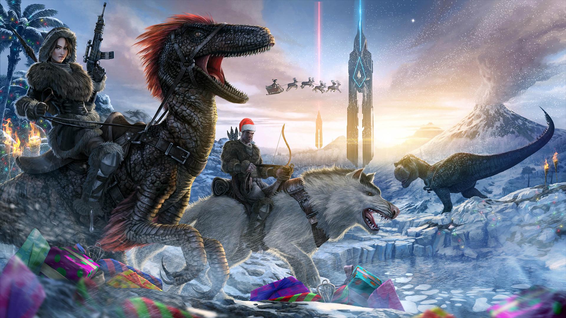 Christmas wallpaper from ARK: Survival Evolved Wallpaper ...