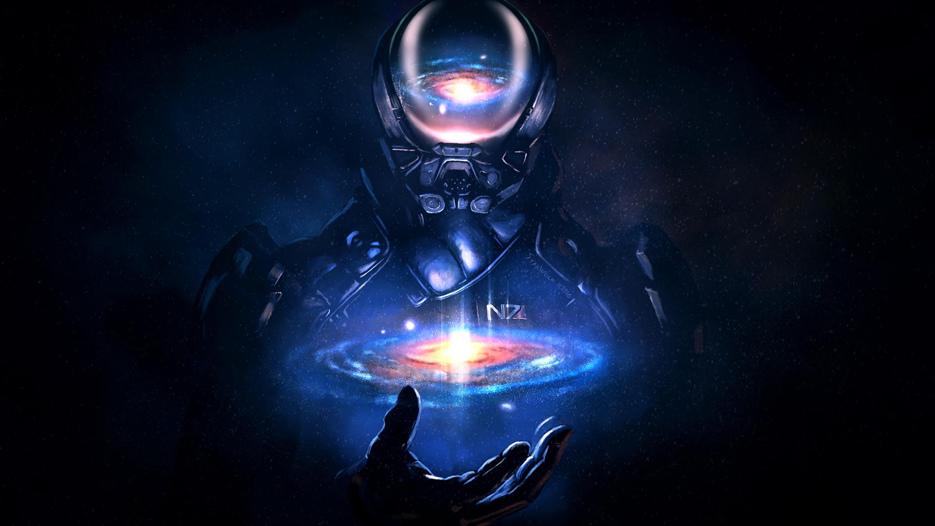 Mass Effect: Andromeda - Los galaktyki jest w twoich rękach Tapeta na pulpit Mass Effect: Andromeda