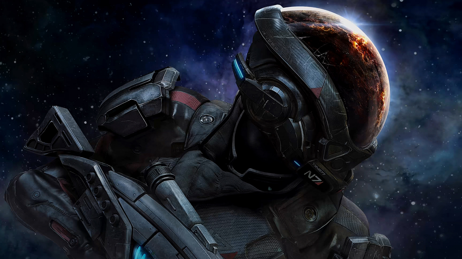 Pathfinder Armor Wallpaper From Mass Effect Andromeda