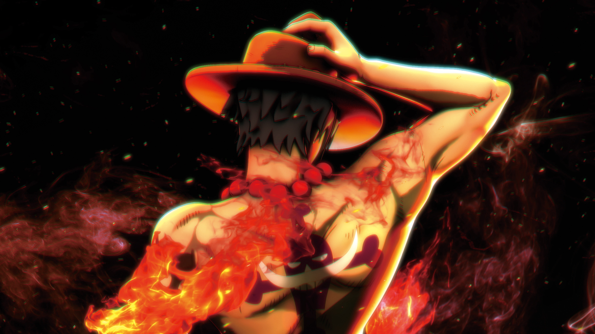Luffy Is A True Ace Among The Pirates Wallpaper From One Piece Burning Blood