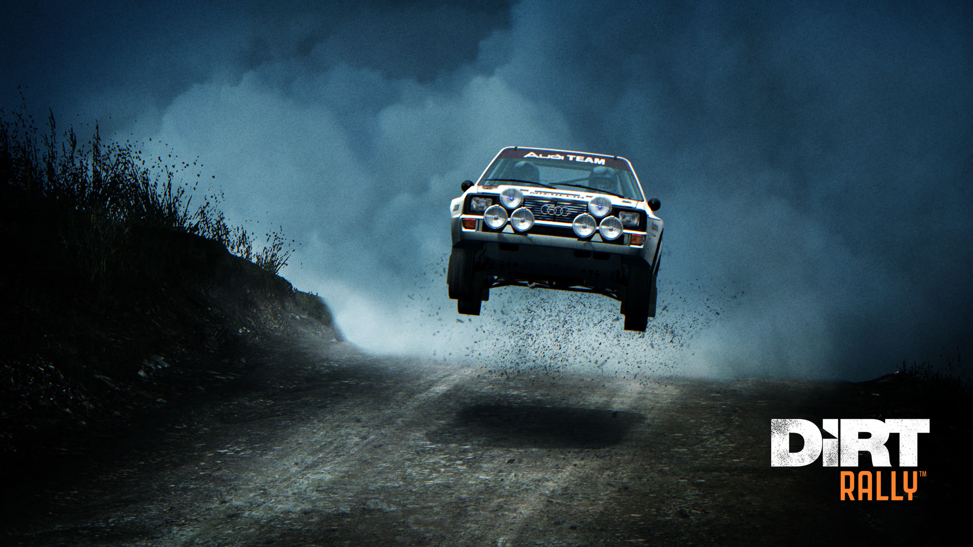 DiRT Rally - Rajd po walijskich bezdrożach. Tapeta na pulpit DiRT Rally