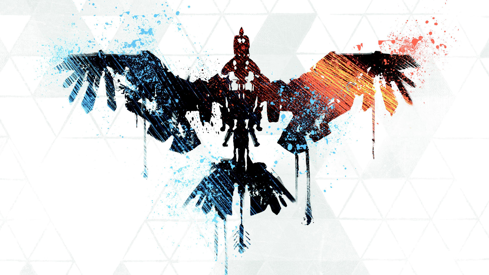 Tribal logo. Wallpaper from Horizon: Zero Dawn