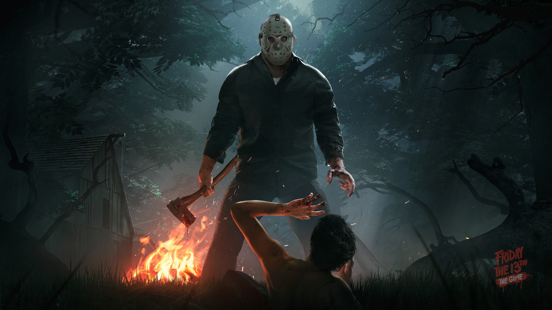 Jason Voorhees Tapeta na pulpit Friday the 13th: The Game