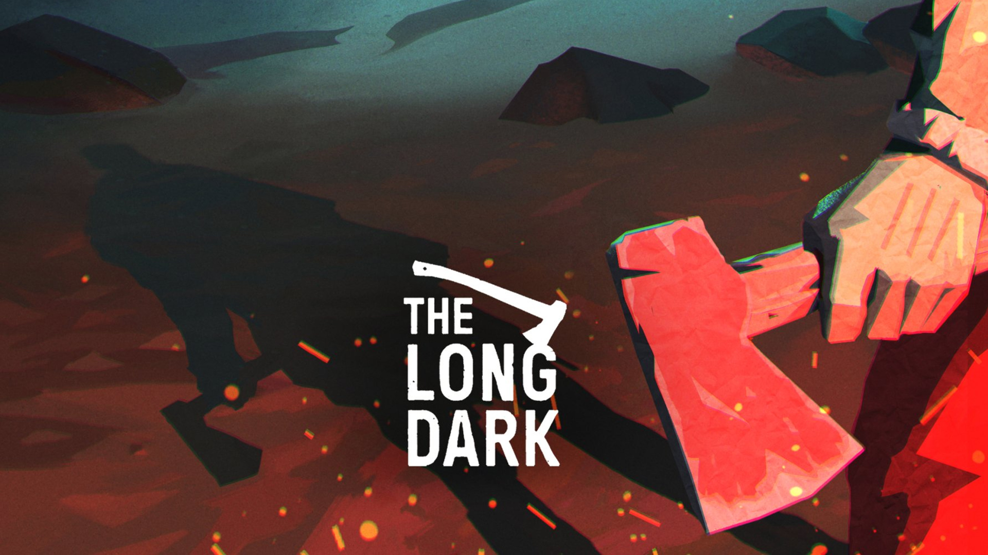 Logo gry The Long Dark. Tapeta na pulpit The Long Dark