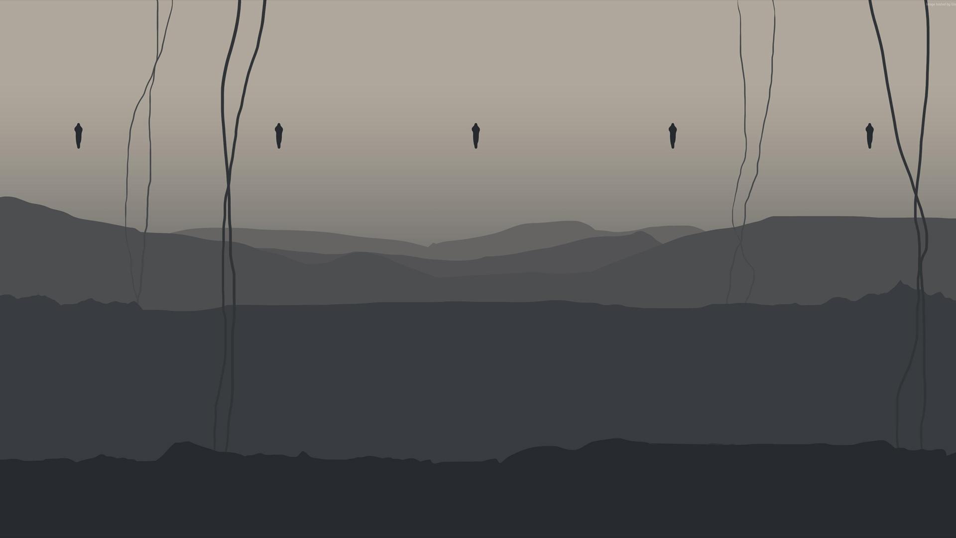 Anomalie na horyzoncie w Death Stranding. Tapeta na pulpit Death Stranding