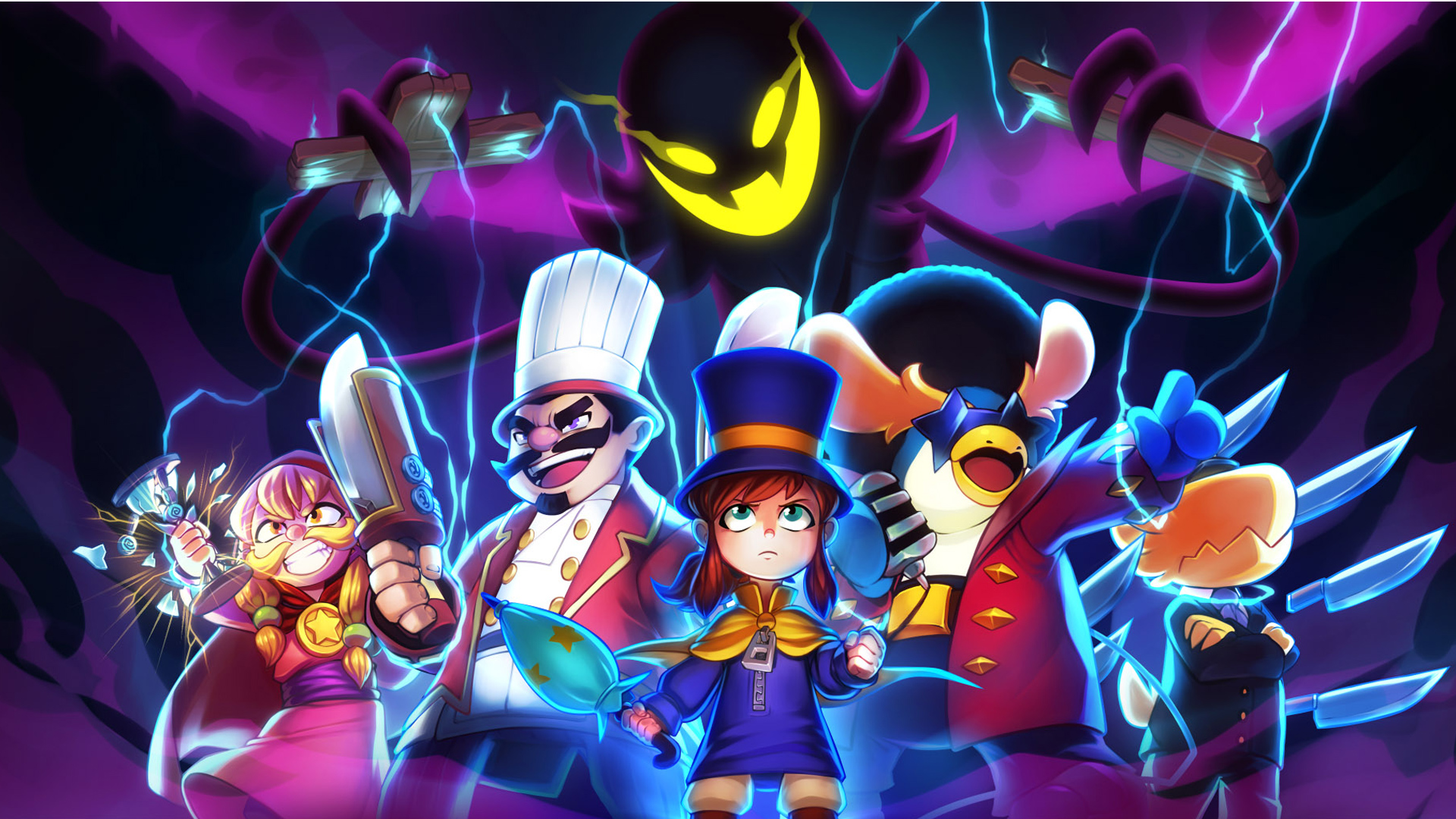 Game S Cast Wallpaper From A Hat In Time Gamepressure Com