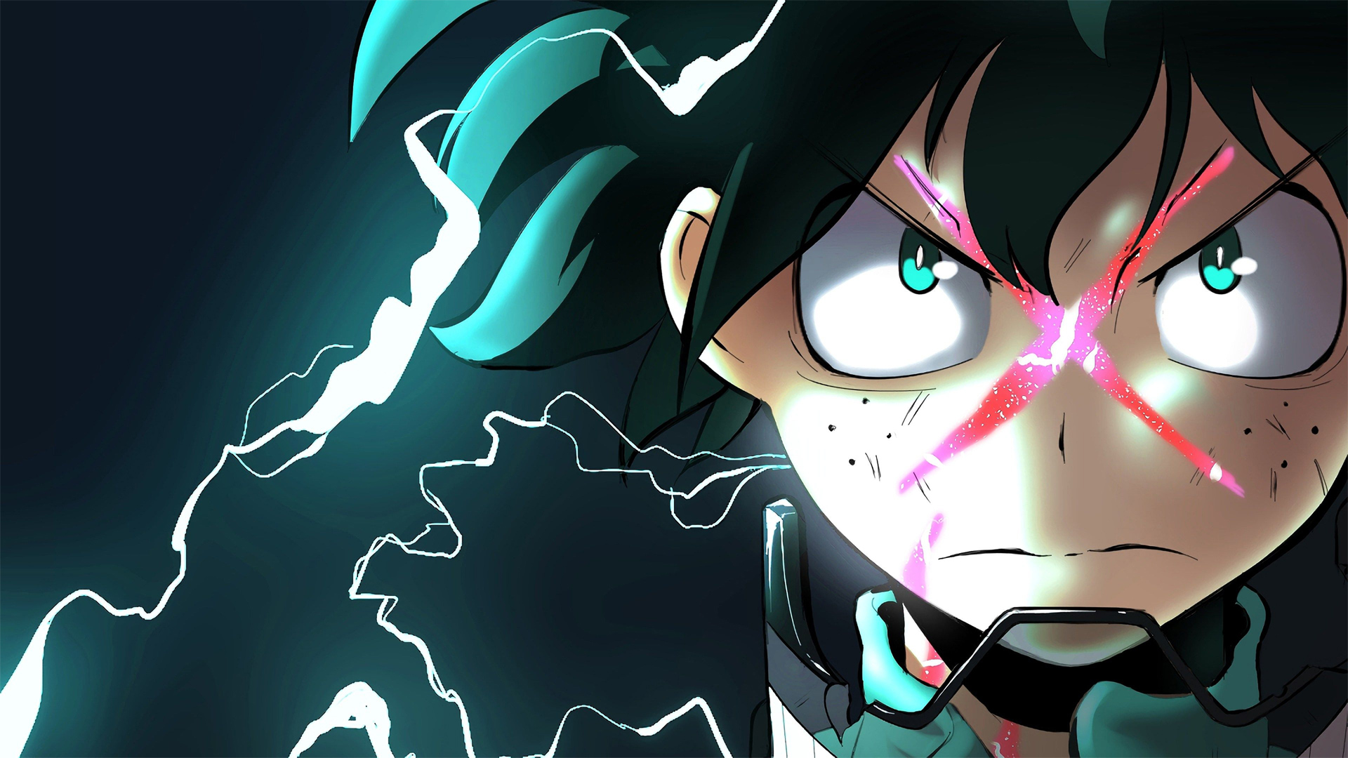 Powered Up Deku Wallpaper From My Hero One S Justice