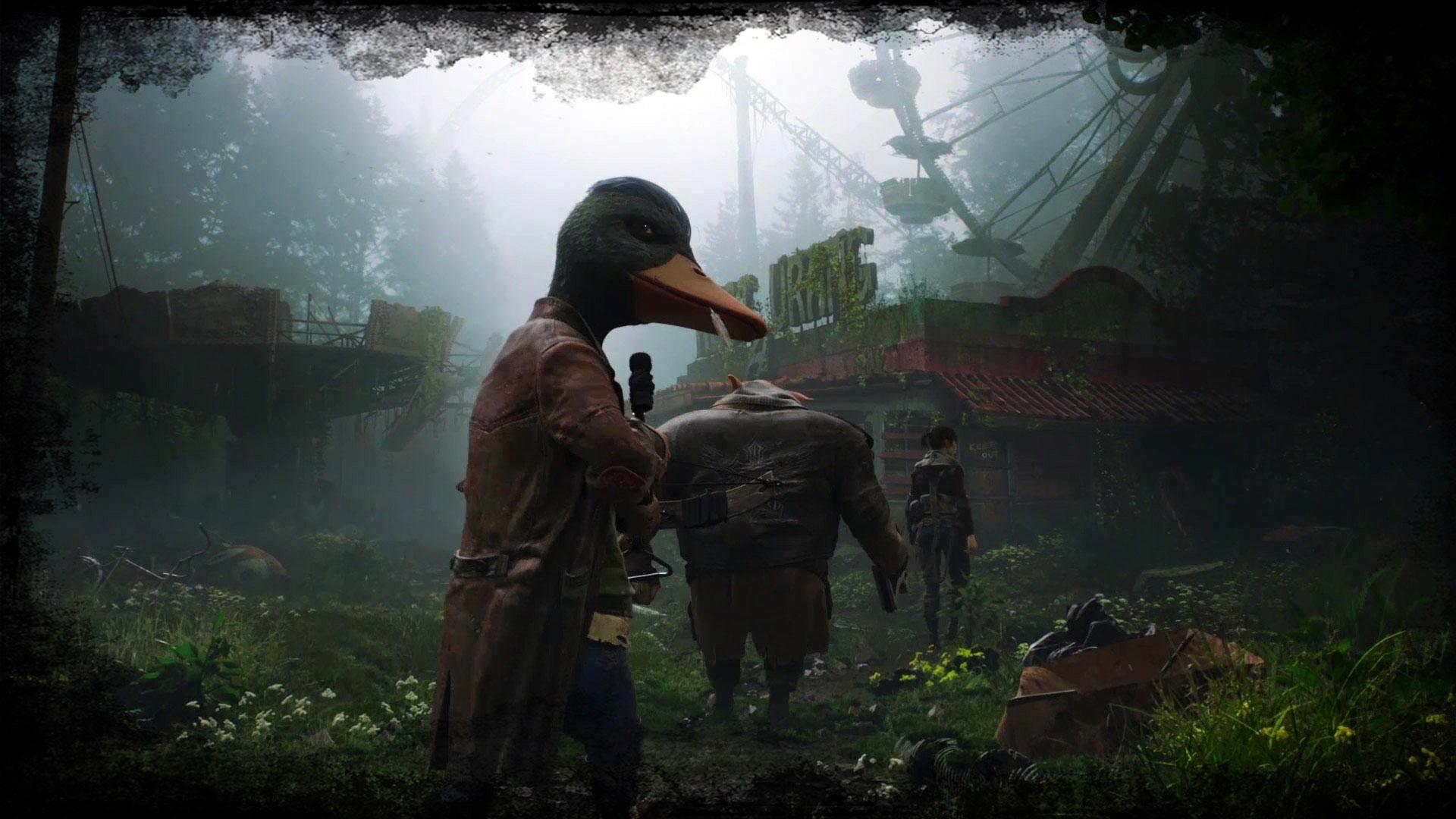 Droga do Edenu w grze Mutant Year Zero. Tapeta na pulpit Mutant Year Zero: Road to Eden